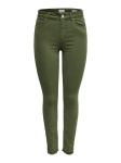 ONLY Onlblush Mid Sk Ankle Skinny Jeans Dames Green