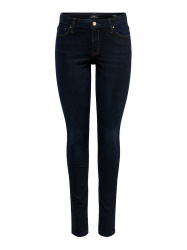 ONLY Onlcarmen Regular Skinny Jeans Dames Blauw