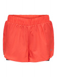 ONLY Loose Fit Sport Short Dames Rood