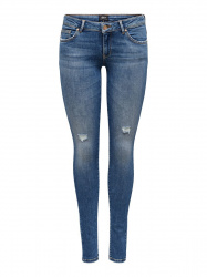 ONLY Onlcoral Life Superlow Skinny Jeans Dames Blauw