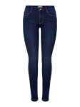ONLY Onlroyal Life Reg Skinny Jeans Dames Blauw