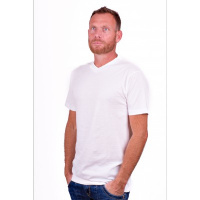 Alan Red T-Shirt West- Virginia White (Two Pack)