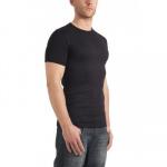 Garage Basic T-Shirt Round Neck Black Semi Bodyfit ( art 0301)