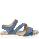 4 X Comfort Sandaal Dames Blauw