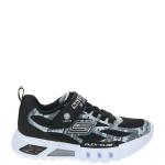 Skechers Flex-Glow Taren Lichtjes Sneaker Zwart/Grijs/Multi