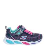 Skechers Shimmer Beams Sparkle Glow Sneaker Blauw/Multi