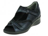 Durea Durea comfort Dichte Hiel, Klittenband sandaal